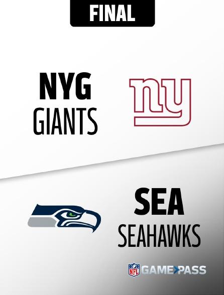 NFL 11 - Giants - Seahawks en replay