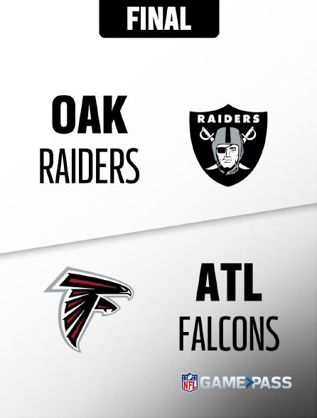 NFL 02 - Raiders - Falcons en replay