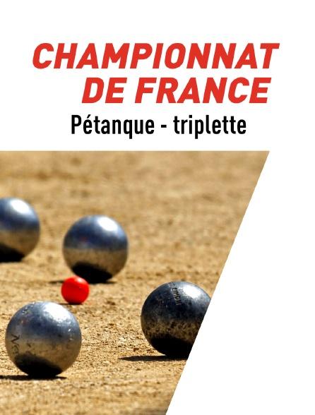 Pétanque : Championnat de France de triplette