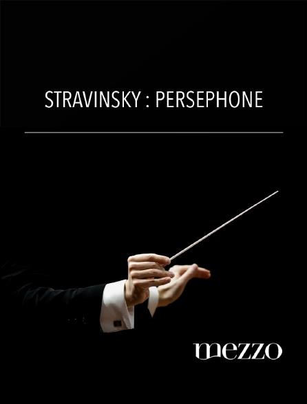 Mezzo - Stravinsky : Perséphone