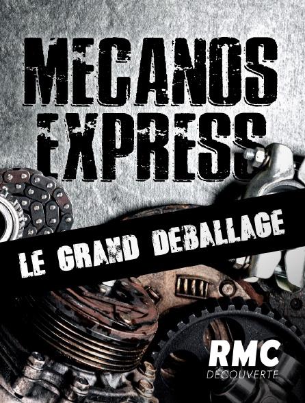 RMC Découverte - Mécanos express : le grand déballage