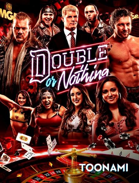 Toonami - All Elite Wrestling: Double or Nothing
