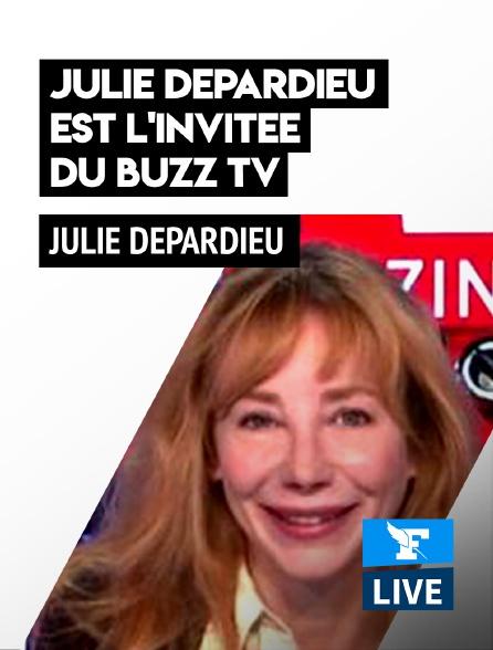Figaro Live - Julie Depardieu est l'invitée du Buzz TV