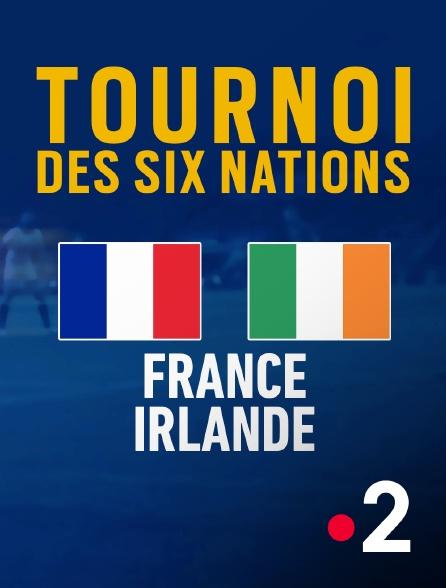 France 2 - Rugby : Tournoi des VI Nations féminin - France / Irlande