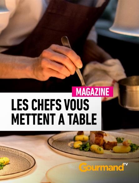 Gourmand TV - Les chefs vous mettent à table