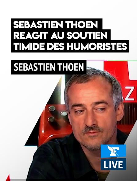 Figaro Live - Sébastien Thoen réagit au soutien timide des humoristes après son éviction de Canal+