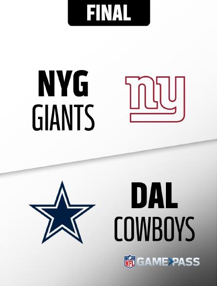 NFL 12 - Giants - Cowboys