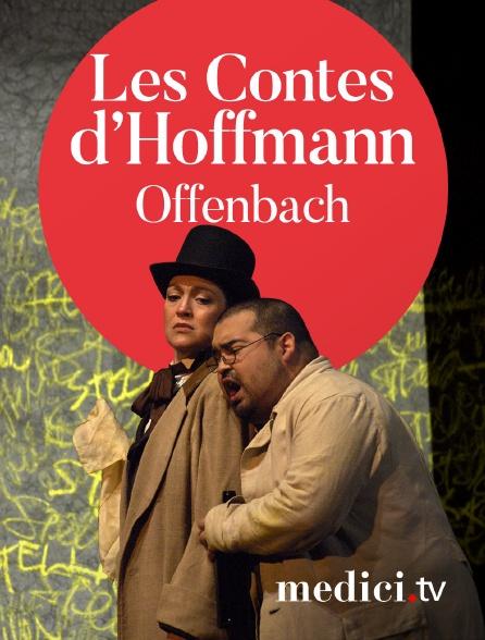 Medici - Offenbach, Les Contes d'Hoffmann - María Bayo, Aquiles Machado, Giancarlo del Monaco - Bilbao