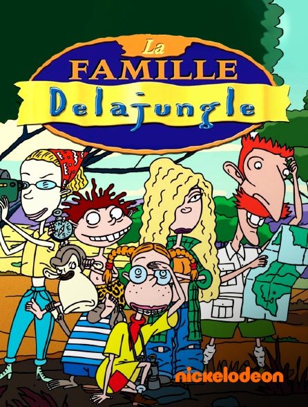 Nickelodeon - La famille Delajungle