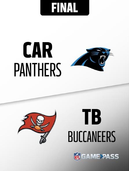 NFL 10 - Panthers - Buccaneers en replay