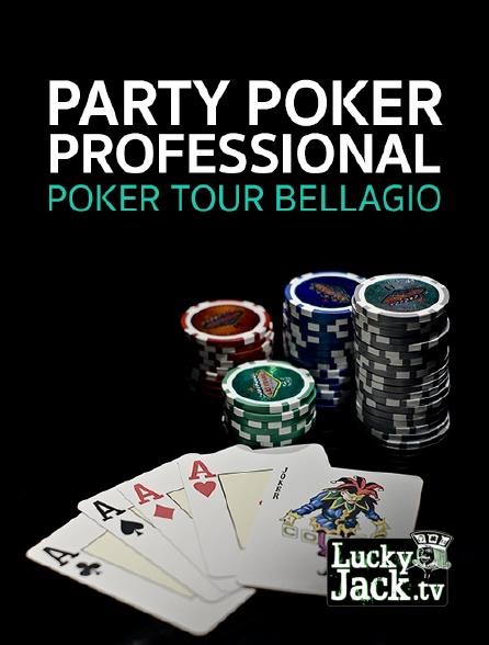Lucky Jack - Party Poker Professional poker tour Bellagio