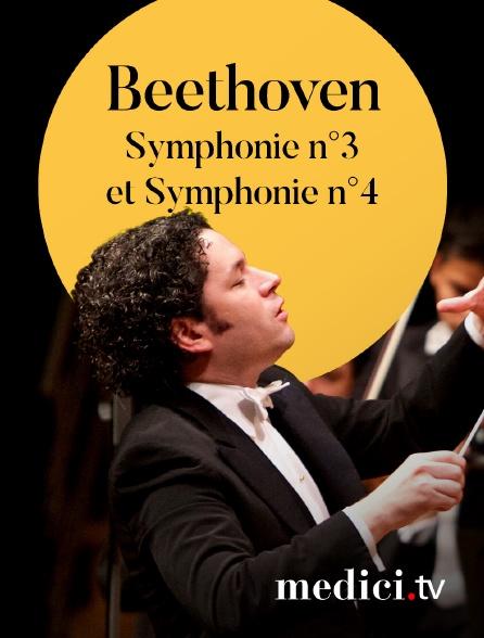 Medici - Beethoven, Symphonie n°3 et Symphonie n°4 - Gustavo Dudamel, Orquesta Sinfónica Simón Bolívar de Venezuela - Palau de la Musica, Barcelone