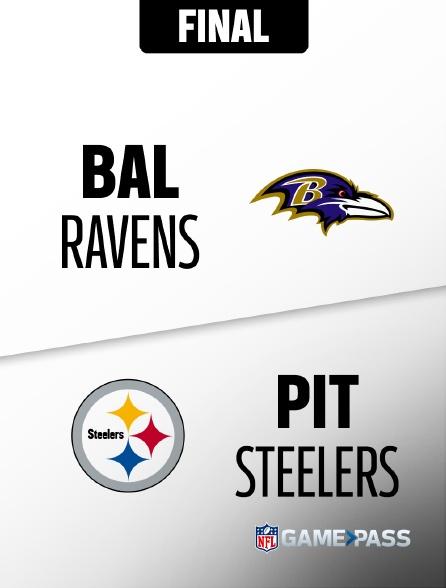 NFL 14 - Ravens - Steelers en replay