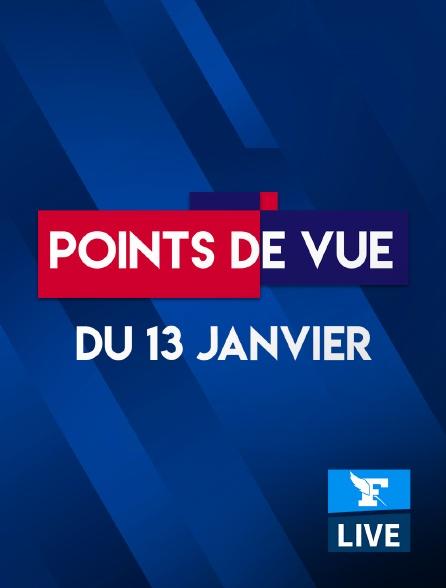 Figaro Live - Points de Vue du 13 janvier 2021