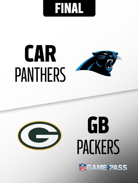 NFL 05 - Panthers - Packers en replay
