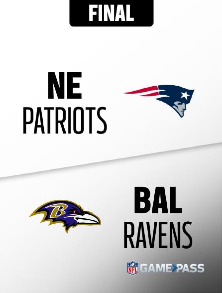 NFL 02 - Patriots - Ravens en replay