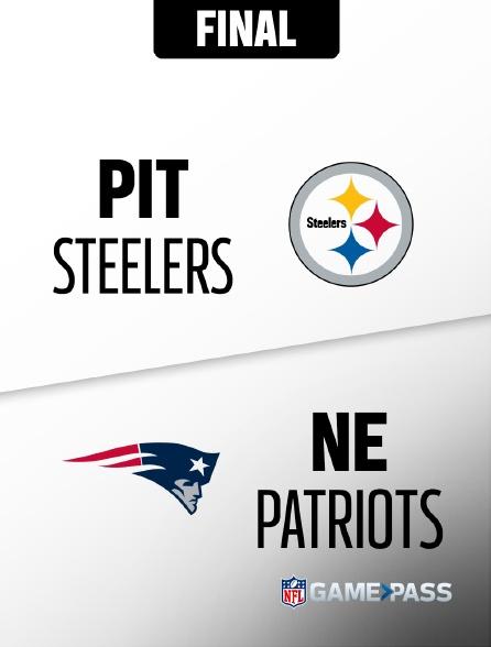 NFL 14 - Steelers - Patriots en replay