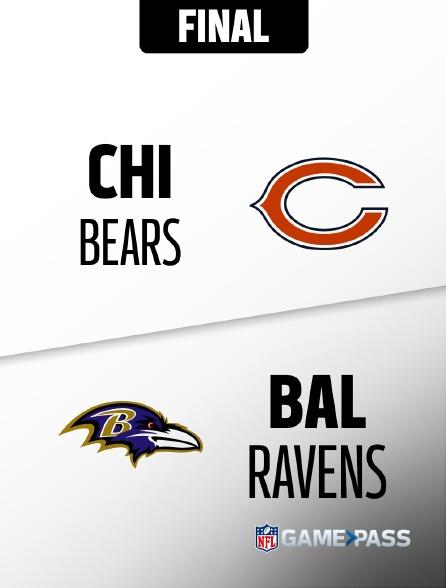 NFL 1 - Bears - Ravens en replay