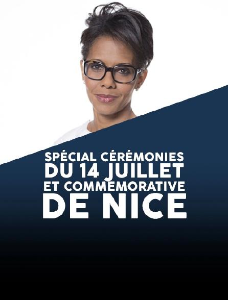 Spécial cérémonies du 14 Juillet et commémorative de Nice
