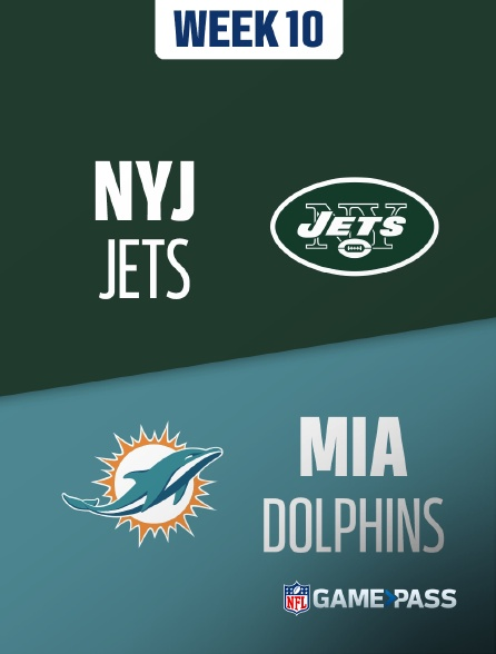 NFL 10 - Jets - Dolphins