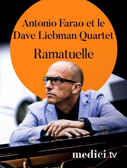 Medici - Antonio Farao et le Dave Liebman Quartet en concert à Ramatuelle