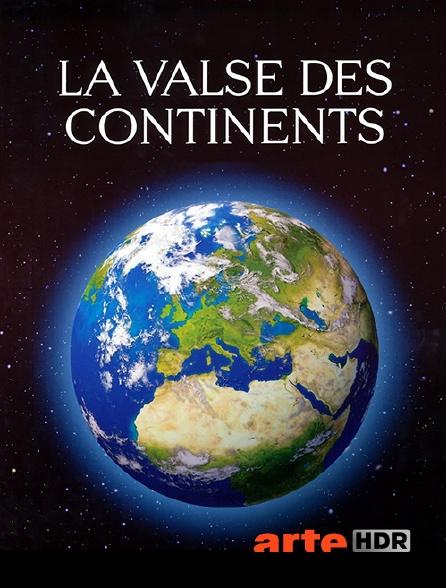 Arte HDR - La valse des continents