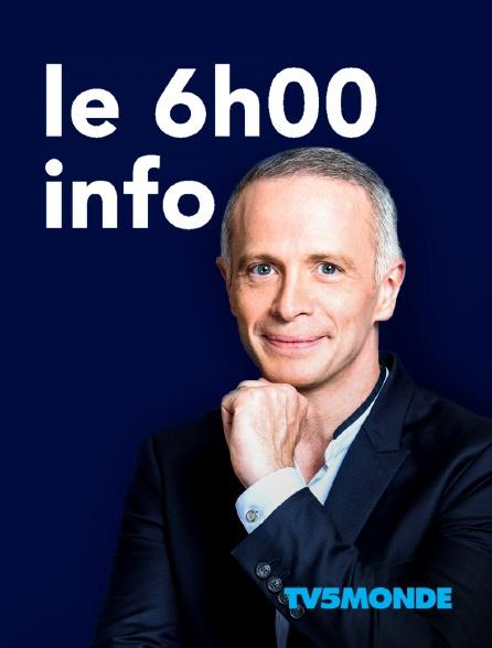 TV5MONDE - Le 6h info