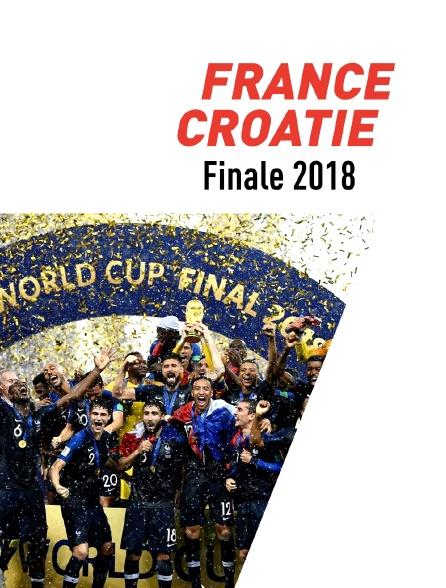 Football : Coupe du monde 2018 - France / Croatie