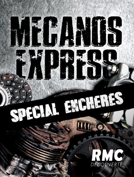 RMC Découverte - Mécanos express spécial enchères