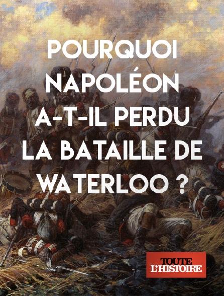 Toute l'histoire - Pourquoi Napoléon a-t-il perdu la bataille de Waterloo ?