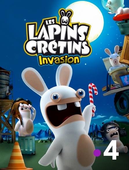 France 4 - Les lapins crétins : invasion
