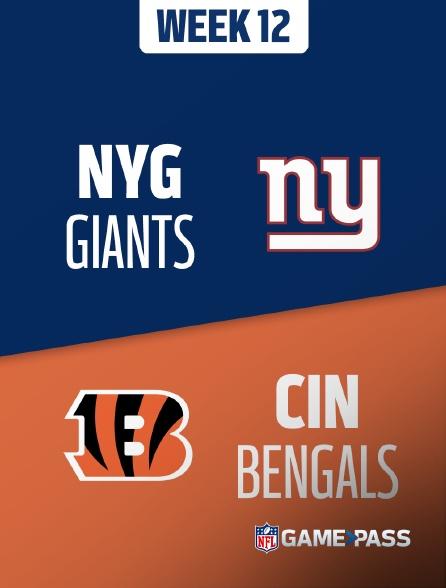 NFL 04 - Giants - Bengals