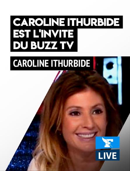 Figaro Live - Caroline Ithurbide est l'invitée du Buzz TV