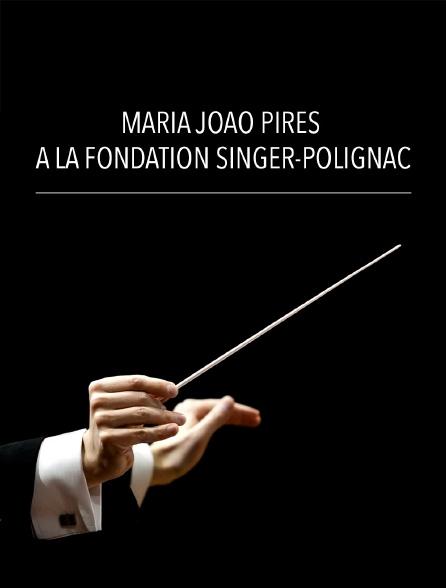 Maria João Pires à la Fondation Singer-Polignac