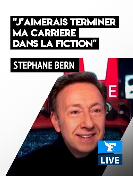 Figaro Live - Stéphane Bern: «J'aimerais terminer ma carrière dans la fiction»