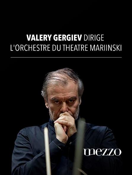 Mezzo - Valery Gergiev dirige l'Orchestre du Théâtre Mariinski
