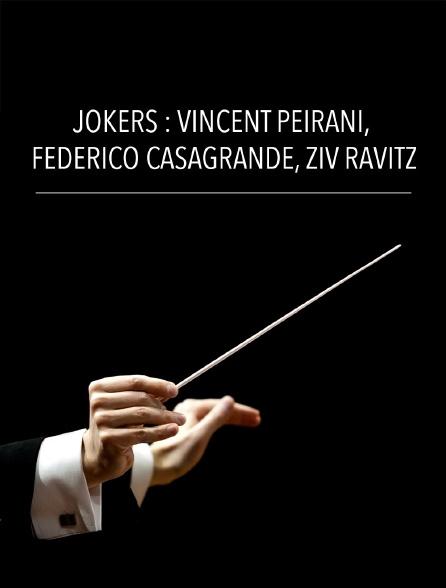 Jokers : Vincent Peirani, Federico Casagrande, Ziv Ravitz