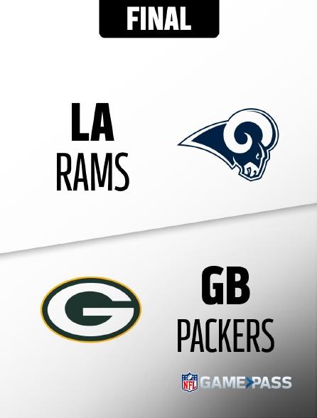NFL 1 - Rams - Packers en replay