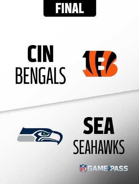 NFL 10 - Bengals - Seahawks