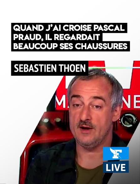 Figaro Live - Sébastien Thoen: «Quand j'ai croisé Pascal Praud, il regardait beaucoup ses chaussures»