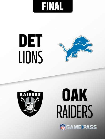 NFL 09 - Lions - Raiders