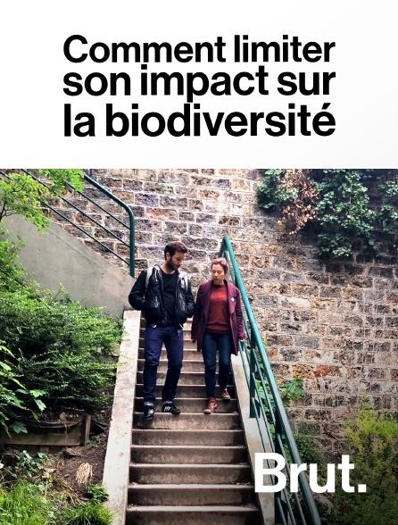 Brut - Comment limiter son impact sur la biodiversité