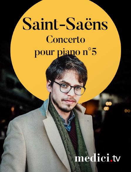 Medici - Saint-Saëns, Concerto pour piano n°5 - Lucas Debargue, Bertrand de Billy, Dresdner Philharmonie