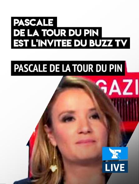 Figaro Live - Pascale de La Tour du Pin est l'invitée du Buzz TV