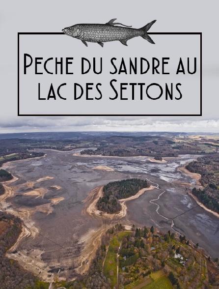 Pèche du sandre au lac des Settons