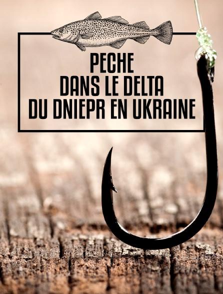 Pêche dans le delta du Dniepr en Ukraine