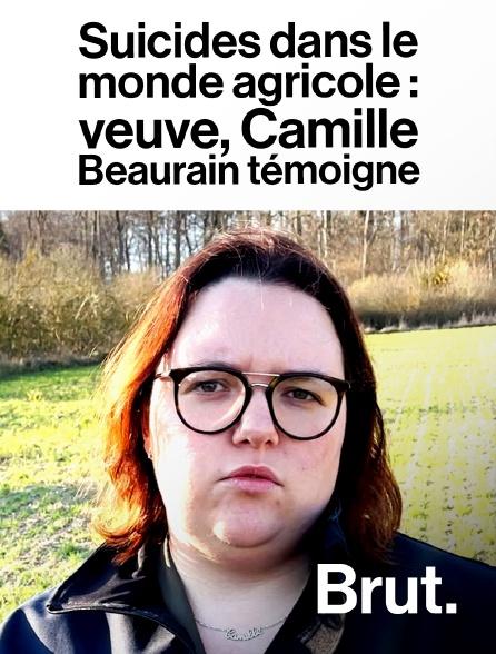 Brut - Suicides dans le monde agricole : veuve, Camille Beaurain témoigne