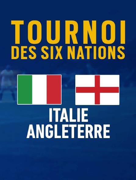 Rugby : Tournoi des VI Nations - Italie / Angleterre