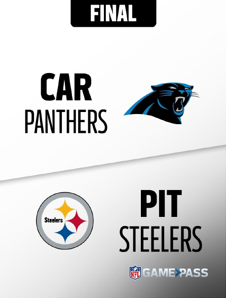 NFL 07 - Panthers - Steelers