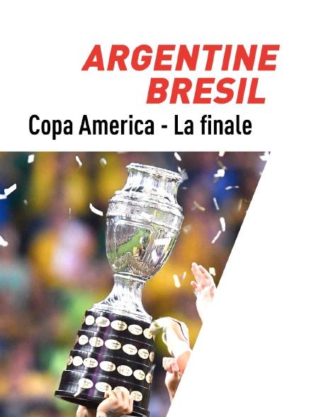 Football : Copa America - La finale : Argentine / Brésil